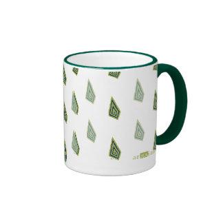 Romboidal verde. Mug