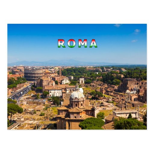 Rome #01C Post Card