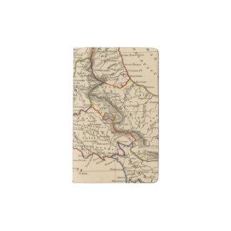 Rome 3 pocket moleskine notebook