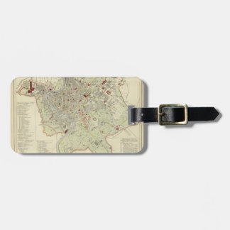 Rome 4 luggage tag