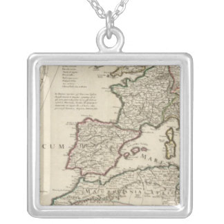 Rome 5 silver plated necklace