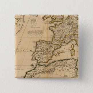 Rome and Eastern Hemisphere 15 Cm Square Badge