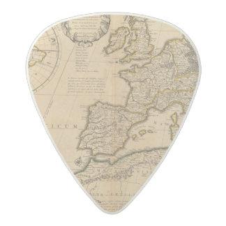 Rome and Eastern Hemisphere Acetal Guitar Pick