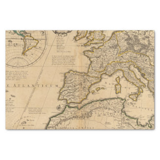 Rome and Eastern Hemisphere Tissue Paper