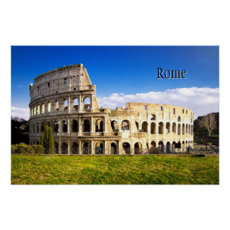 Rome and the Colosseum Personalized