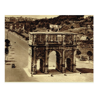 Rome Arch of Constantine Post Card