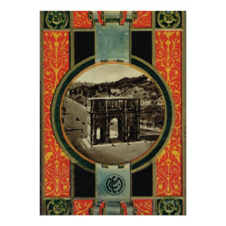 Rome, Arch of Constantine Poster
