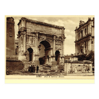 Rome, Arch of Septimus Severus Postcard