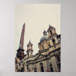 Rome architecture print