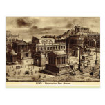 Rome, Artist's Impression of Roman Forum Postcard