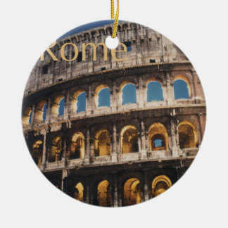 Rome at Night Christmas Ornament