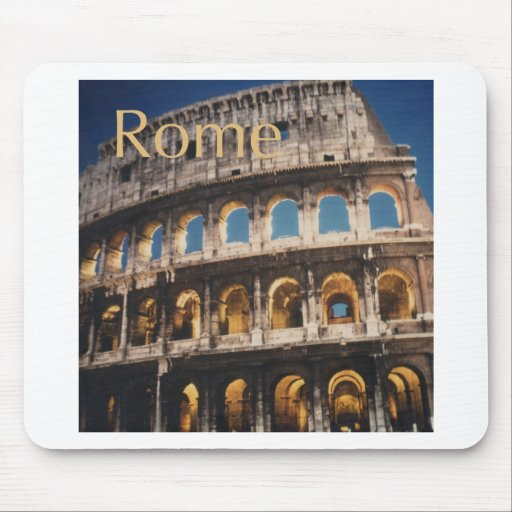 Rome at Night Mousepad
