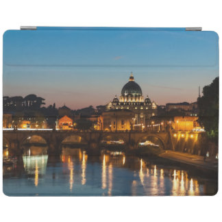 Rome at night Postcard | St Peters | Sunset iPad Cover