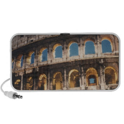 Rome at Night Notebook Speaker