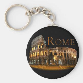 Rome Basic Round Button Key Ring