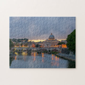 Rome bridge jigsaw puzzle