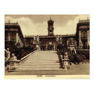 Rome,Campodoglio Postcard
