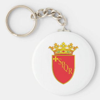 Rome Coat Of Arms Key Ring