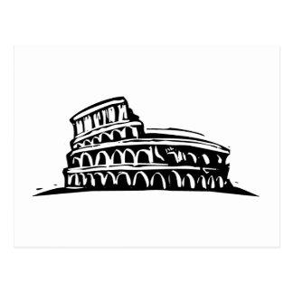 Rome Coliseum Postcard