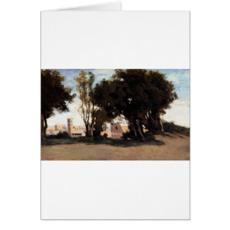 Rome, Coliseum, View from the Farnese Gardens Greeting Card