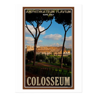 Rome - Colosseum from Palatine Hill Postcard