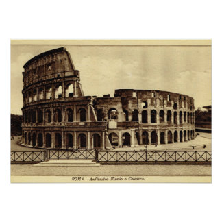 Rome,  Colosseum in c. 1900 Poster