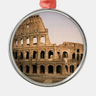 ROME COLOSSEUM Silver-Colored ROUND DECORATION