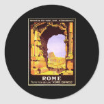 Rome Express Classic Round Sticker