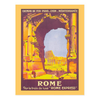Rome Express Post Cards