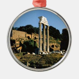 Rome, Foro Romano, 1956 Christmas Ornament
