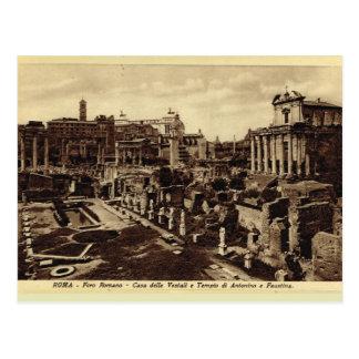 Rome, Foro Romano Postcard