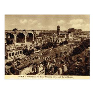 Rome,Forum, Panorama Postcard