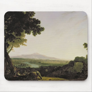 Rome from the Villa Madama (oil on canvas) Mouse Mat