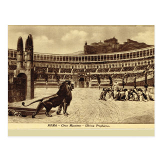 Rome, Games in the Circus Maximus Postcard