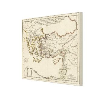 Rome, Greece, Turkey 2 Canvas Print