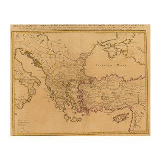 Rome, Greece, Turkey 2 Wood Wall Decor