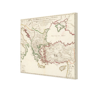 Rome, Greece, Turkey Canvas Print