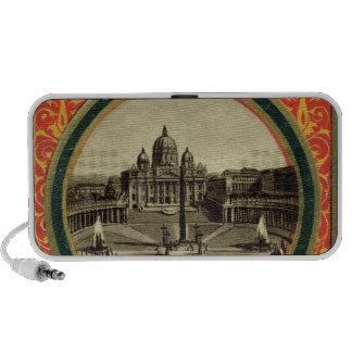 Rome, guide book cover 1900 iPod speaker