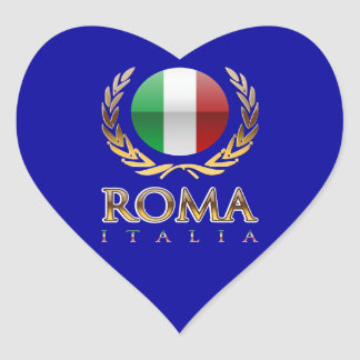 Rome Heart Sticker