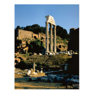 Rome in the Forum Post Card
