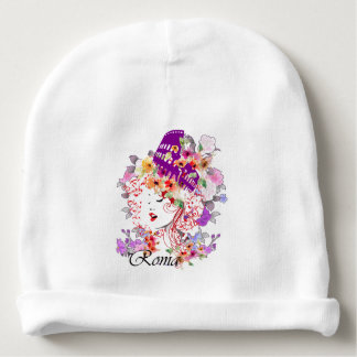 Rome in Woman Baby Beanie