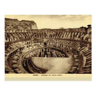 Rome, Inside the Colosseum Postcard