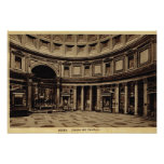 Rome Inside the Pantheon Poster