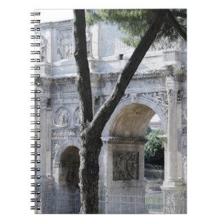 Rome, Italy 5 Notebooks