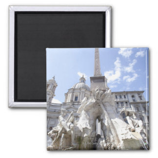 Rome, Italy 7 Square Magnet