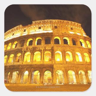 Rome, Italy 8 Square Sticker