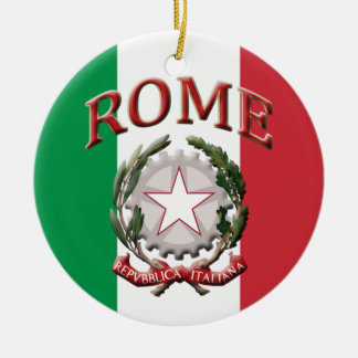 Rome Italy Christmas Ornament