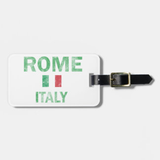 Rome Italy Designs Luggage Tag