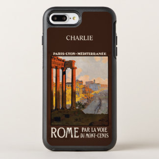 Rome Italy name phone OtterBox Symmetry iPhone 7 Plus Case