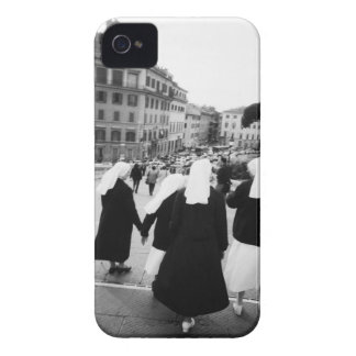 Rome Italy, Nun Patrol! (NR) iPhone 4 Case-Mate Case